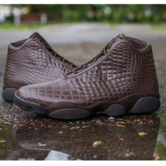 brand new 4f1df c754a NEW Nike Jordan Horizon Croc Brown Men 10.5. M 5a5ed9b43800c5a9d56ead54